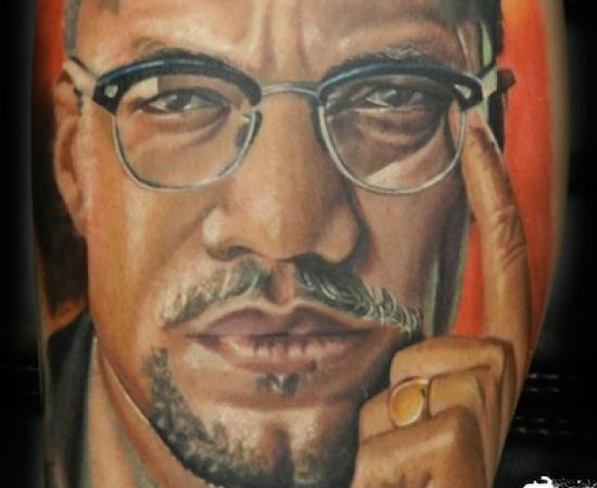 malcolm x shows off new tattoos in 2017 real photo pictures images and sketches tattoo. Black Bedroom Furniture Sets. Home Design Ideas