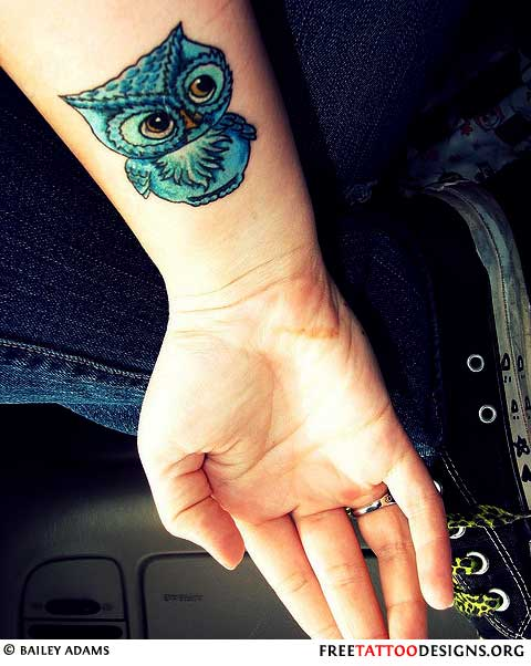Maori Owl Tattoo Stencil photo - 1