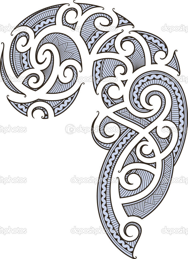 Maori Tribal Tattoo For Shoulder photo - 1