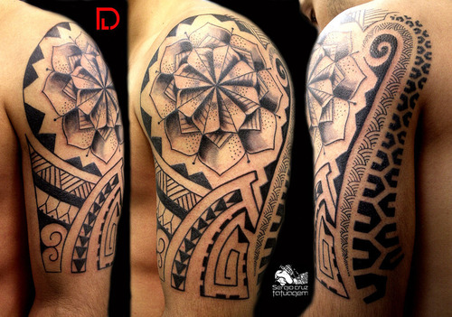 Maori Tribal Tattoos For Arm photo - 1