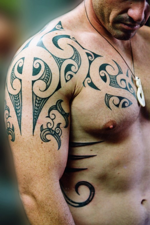 Maori Tribal Tattoos For Arm photo - 3