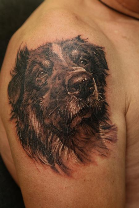 Memorial Animal Portrait Tattoo photo - 1