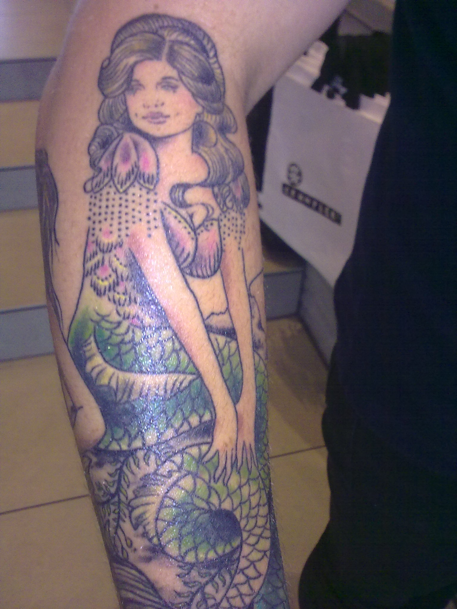 Mermaid Sleeve Tattoo Picture photo - 2