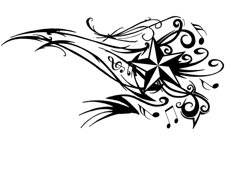 Musical Notes Tattoo Designs photo - 1