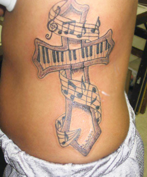 Musical Notes Tattoo Designs photo - 3