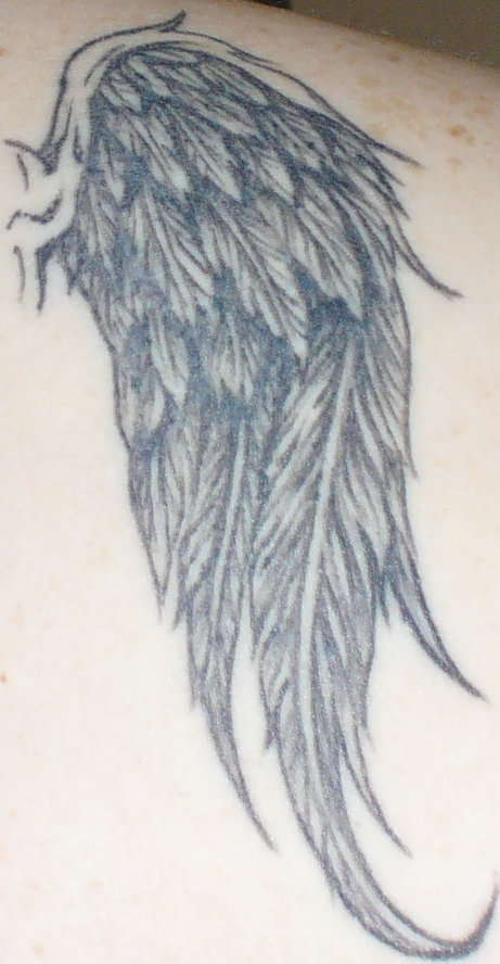 Nice Angel Tattoo photo - 1