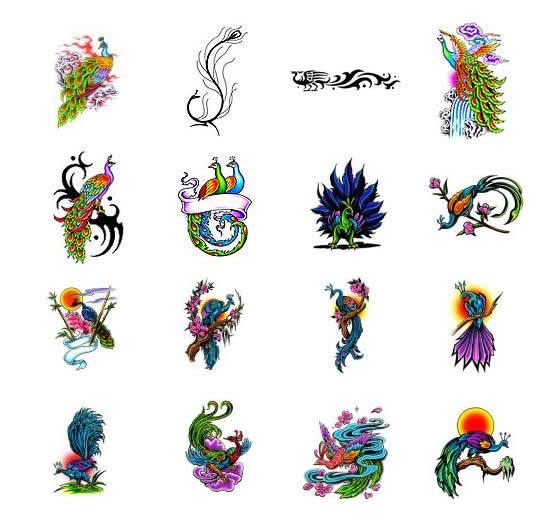 Peacock Feather Wrist Tattoo For Girls photo - 1