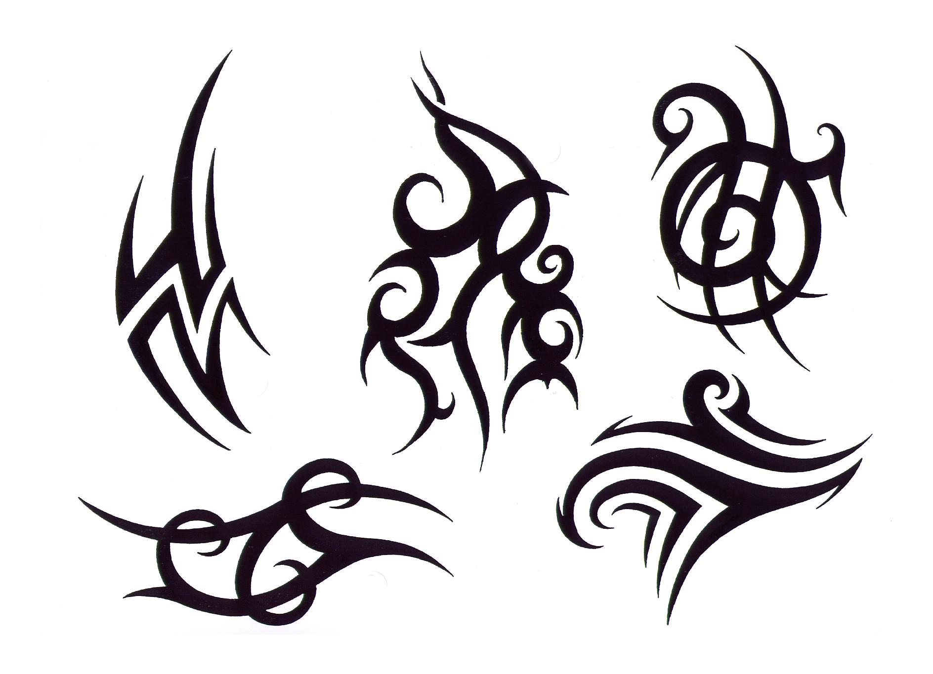 Pokemon Tribal Tattoo Design photo - 1