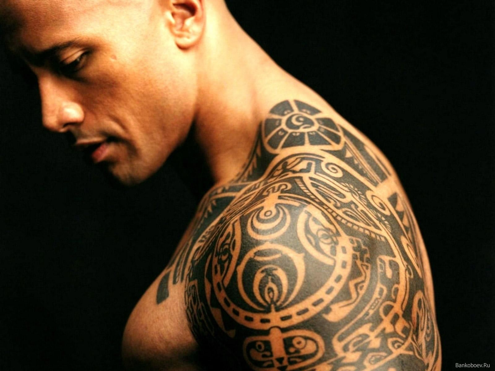 Populer Aztec Tattoo on Bicep photo - 1