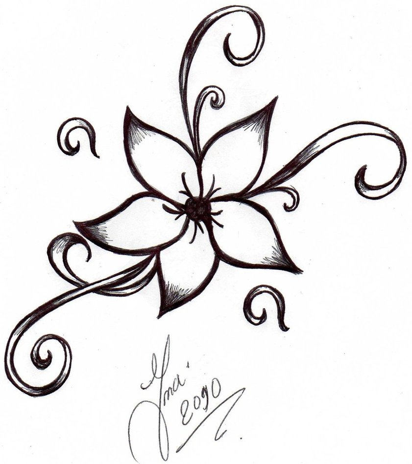 Sekond Music Angel Tattoo Design photo - 2
