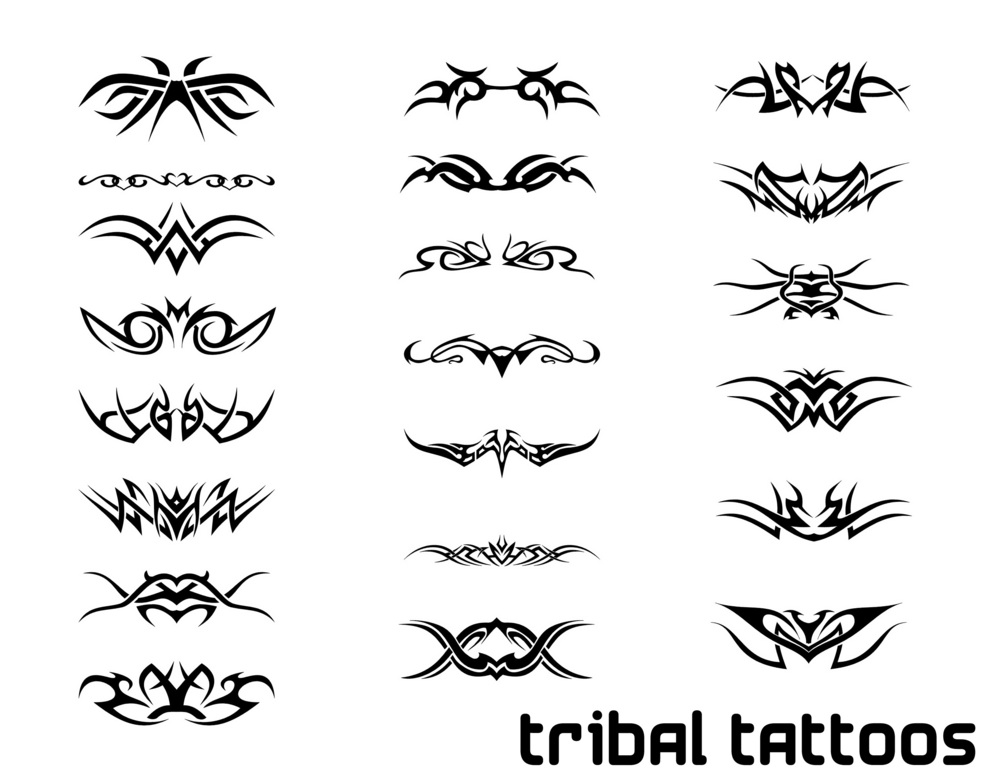 Set Of Tribal Sun Tattoo Designs photo - 2