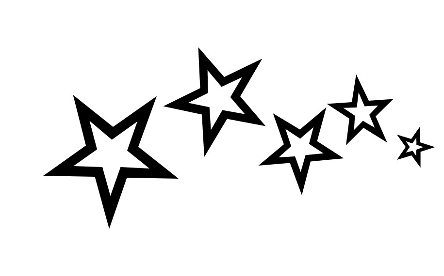 Simple Star Tattoo Designs photo - 1