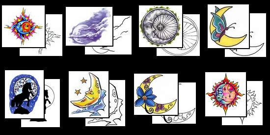 Sun And Moon Tattoos For Men photo - 2