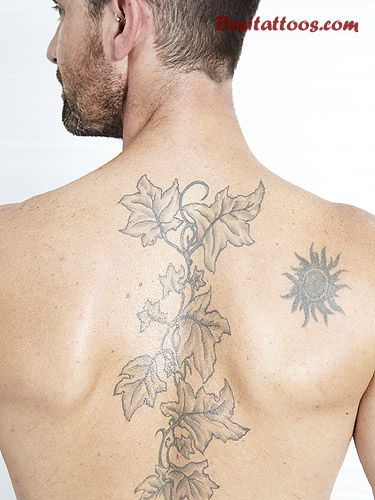 Terrific Tribal Tattoo For Lower Back photo - 3