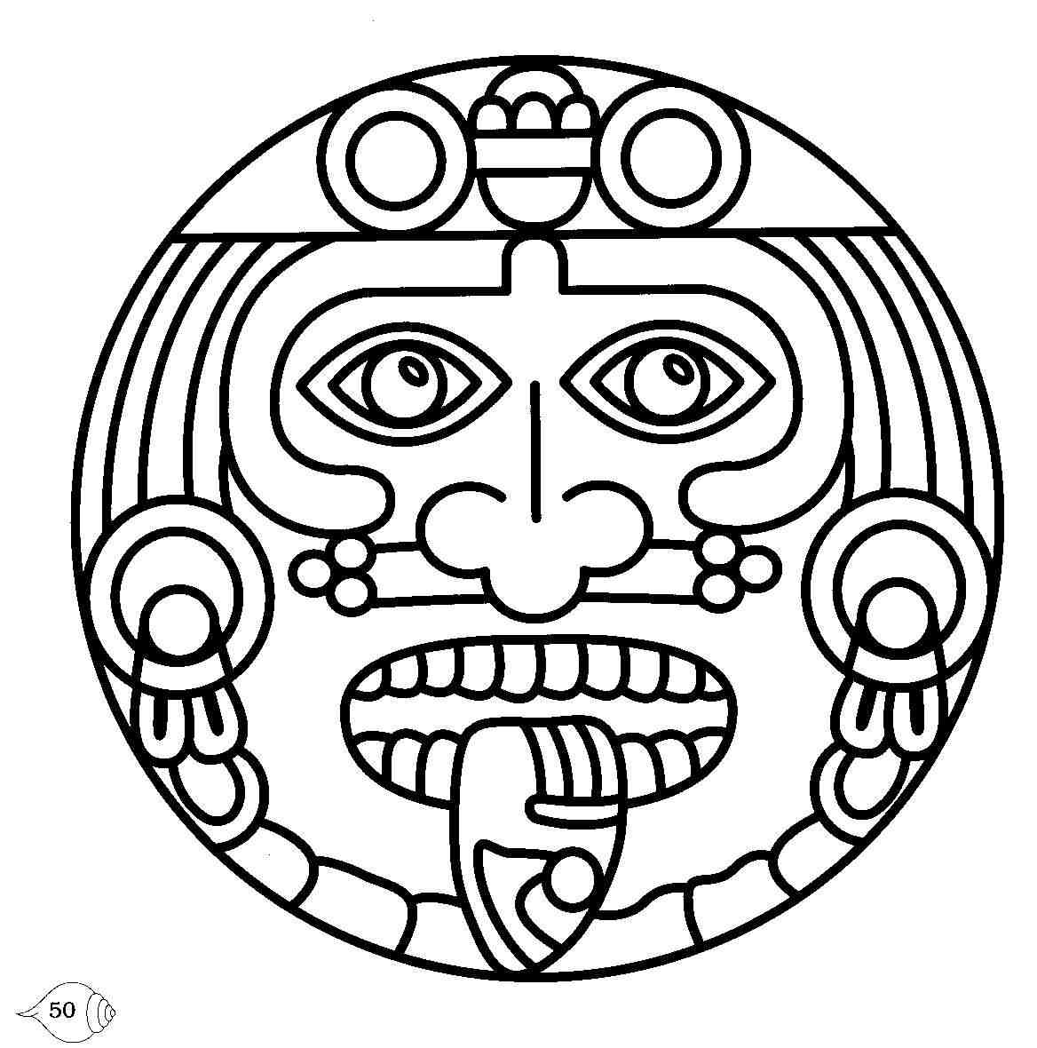 Tribal And Celtic Aztec Sun Tattoos photo - 1