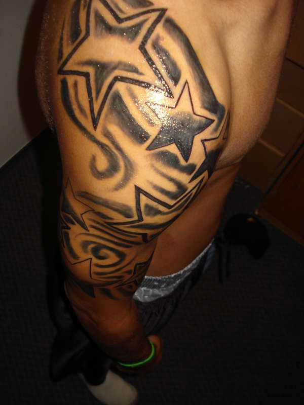 Tribal And Maori Sleeve Tattoos photo - 3