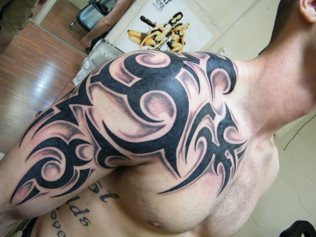 Tribal Animal And Bird Tattoo Set photo - 2