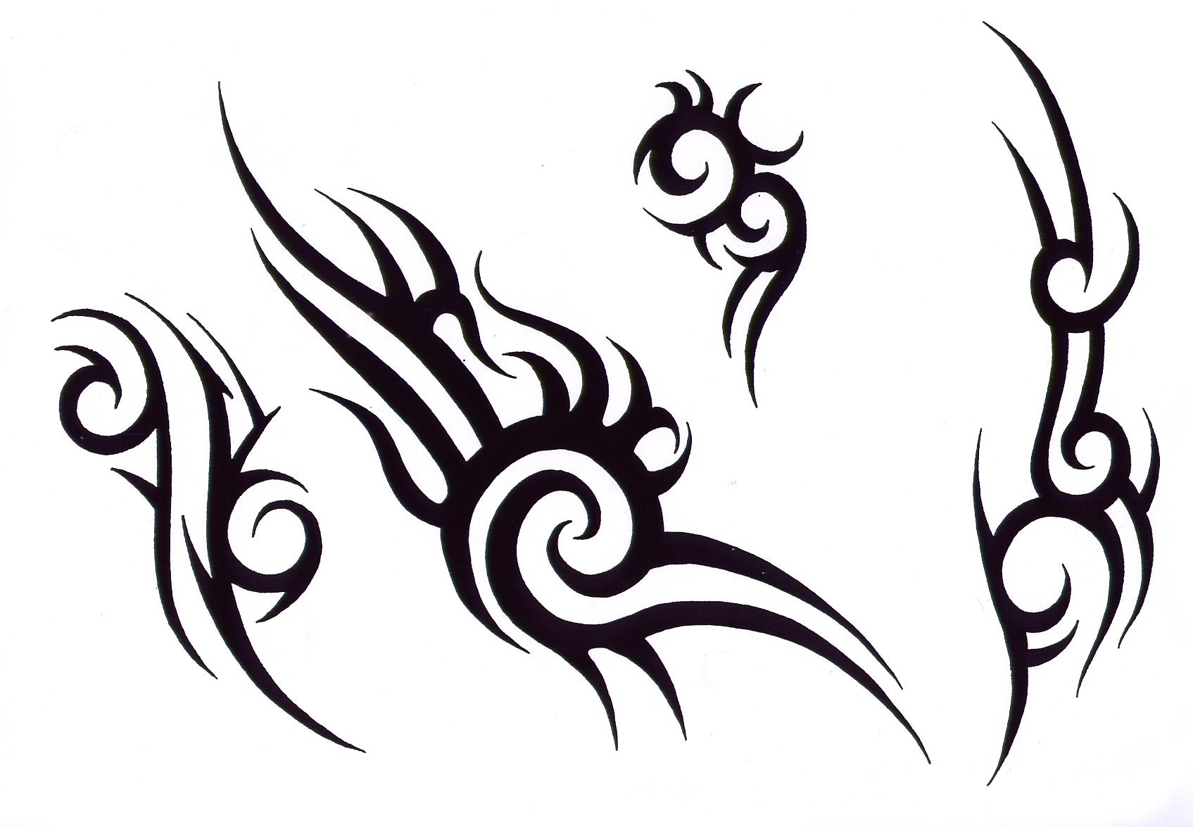 Tribal Butterfly Tattoo Design photo - 1
