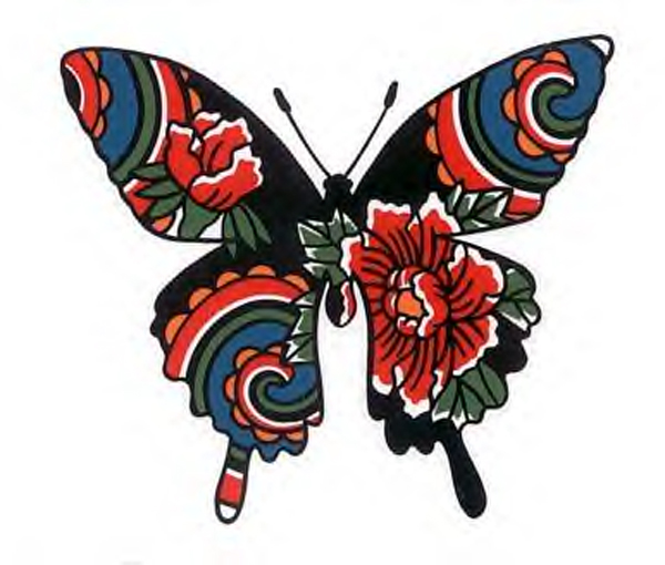 Tribal Butterfly Tattoo Designs photo - 3