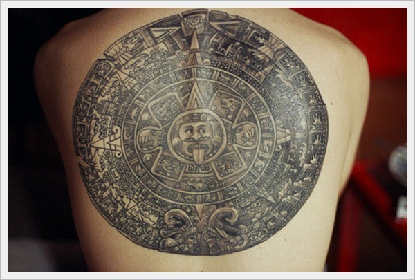 Tribal Circle Tattoo For Back photo - 2
