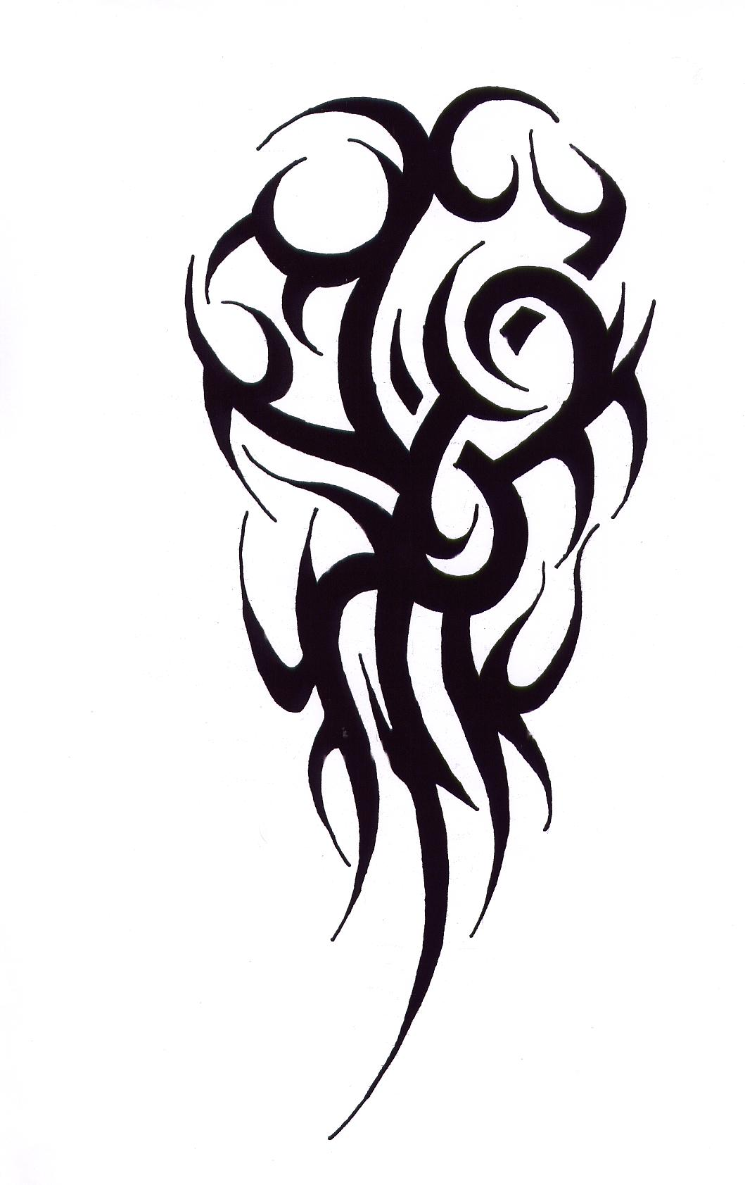 Tribal Deer Tattoo Design photo - 3