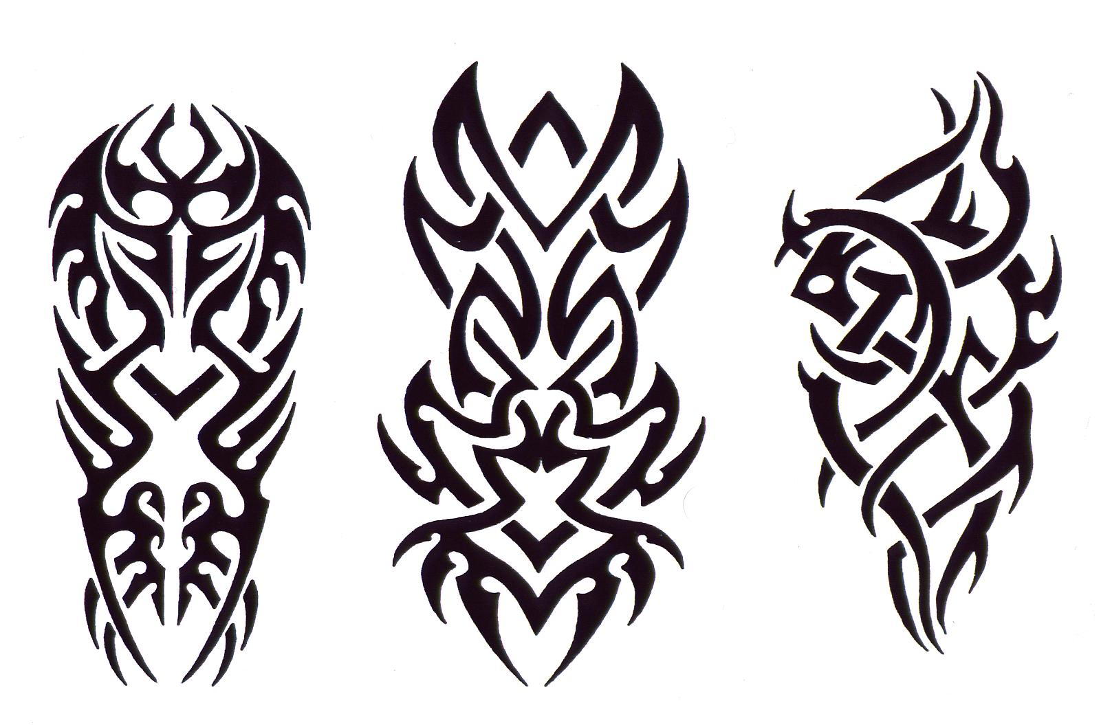 Tribal Devil Tattoo Design photo - 2