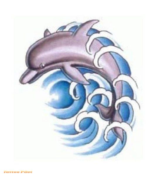 Tribal Dolphins Tattoo Designs photo - 3