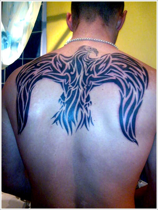 Tribal Eagle Tattoo Picture photo - 2