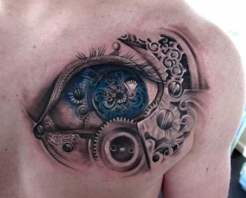 Tribal Eye Tattoo photo - 3