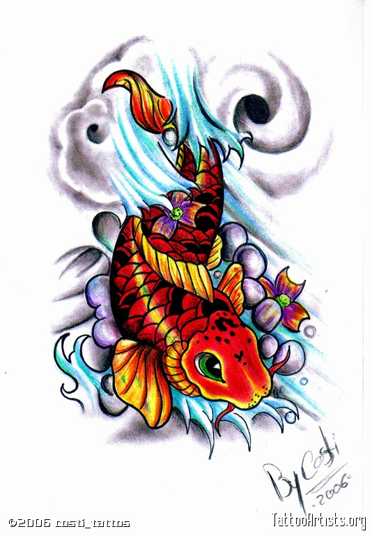 Tribal Fish Tattoo Picture photo - 3