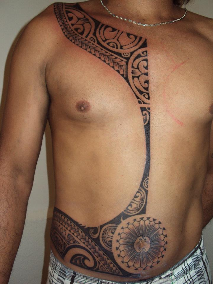 Tribal Head Tattoo For Girls photo - 2