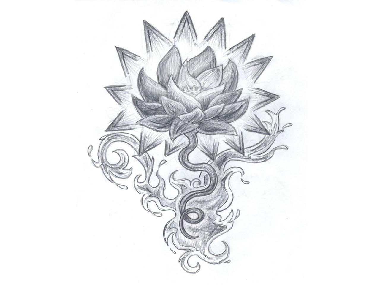 Tribal Joker Tattoo Design photo - 2