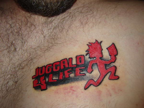 Tribal Juggalo Tattoo Design photo - 2