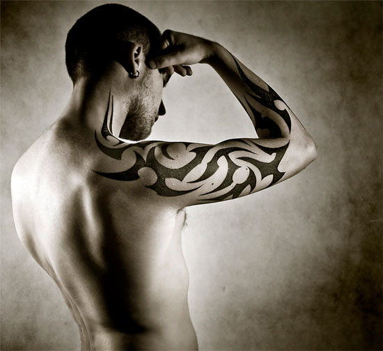 Tribal Owl Tattoo Photo photo - 1