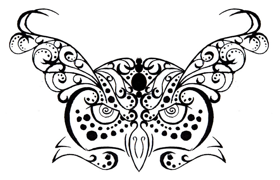 Tribal Owl Tattoo Photo photo - 3