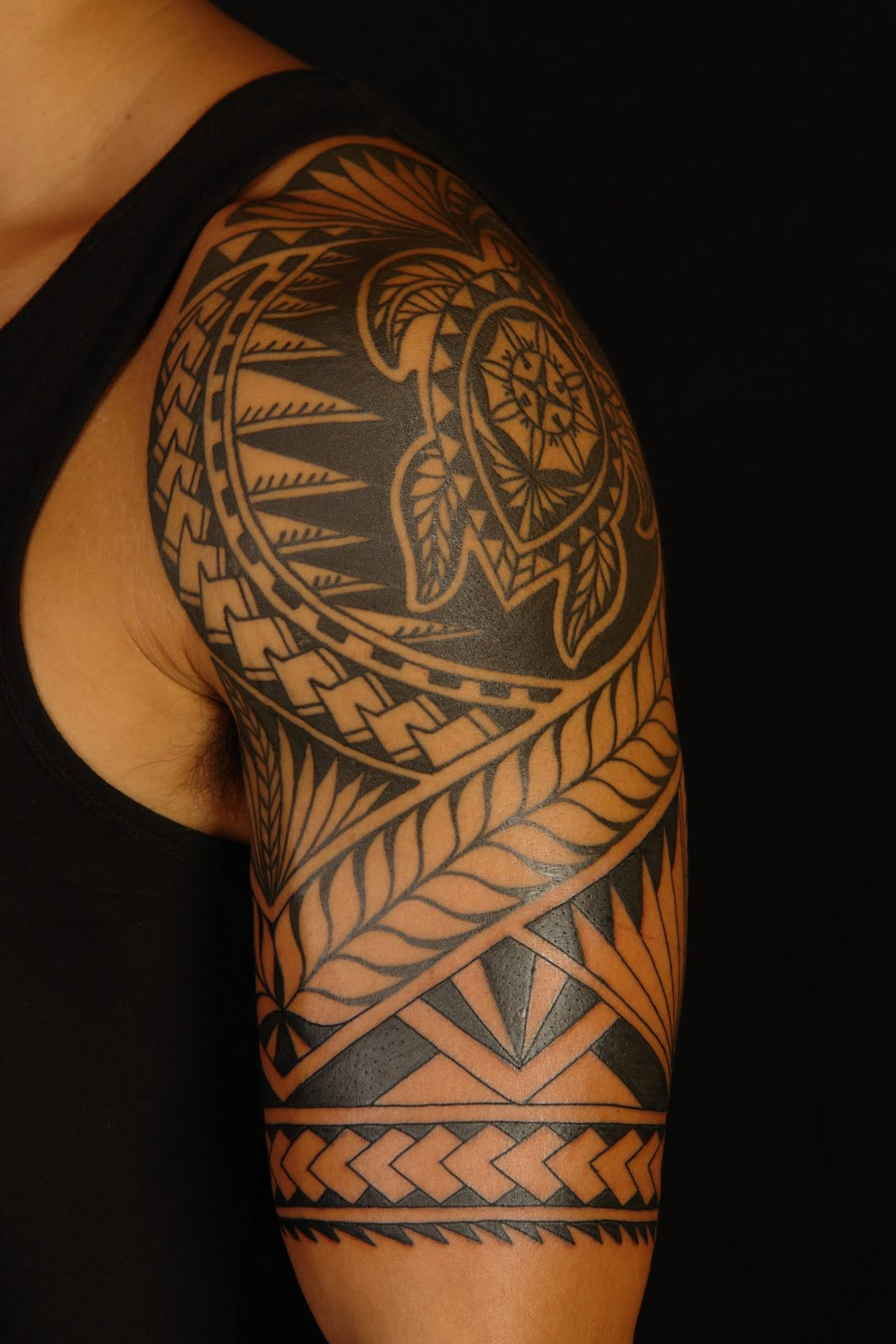 Tribal Polynesian Tattoo For Guys photo - 3