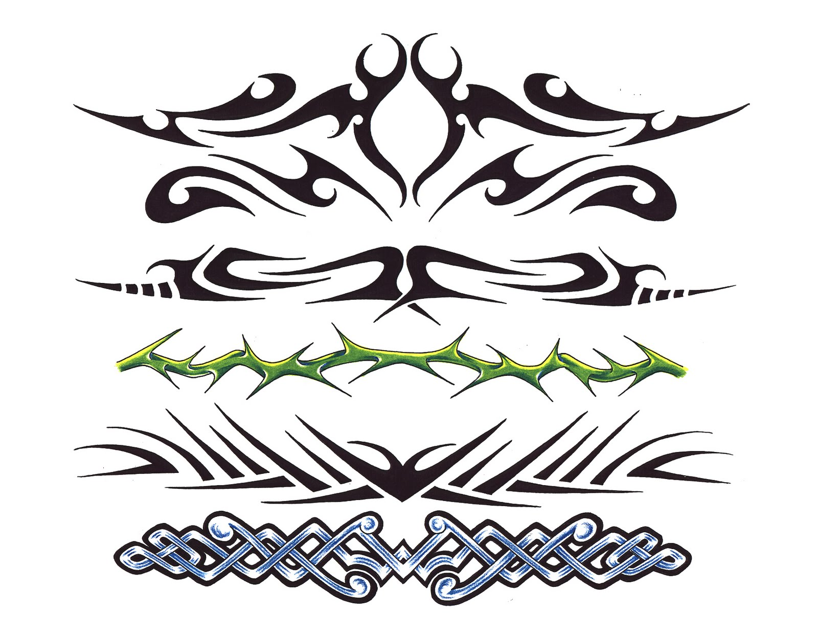 Tribal Star Tattoo Designs For Lower Back photo - 3