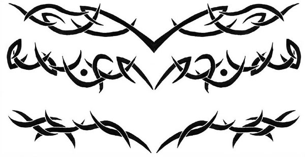 Tribal Tattoo Designs For Lower Back photo - 2