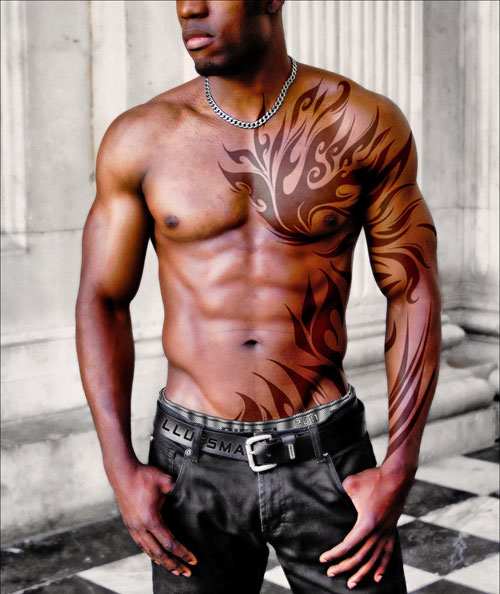 Tribal Tattoo For Your Biceps photo - 1