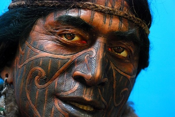 Tribal Tattoo On Celebrity Face photo - 1