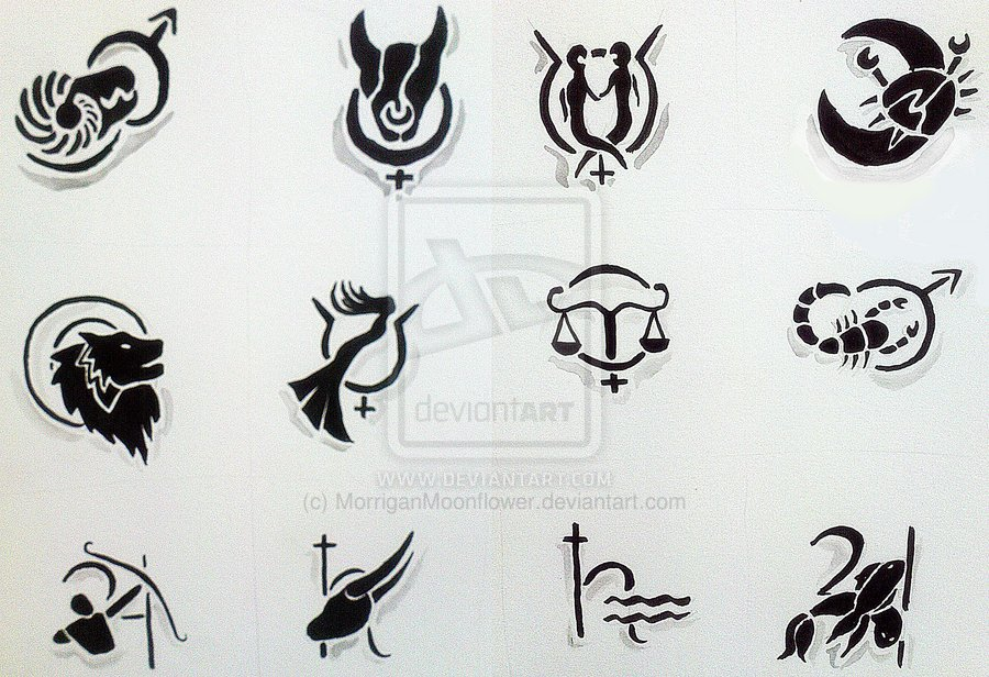 Tribal Zodiac Leo Tattoo Designs photo - 1