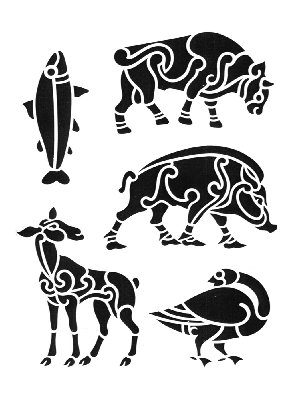 Tribal Zodiac Symbols Tattoo Designs photo - 2