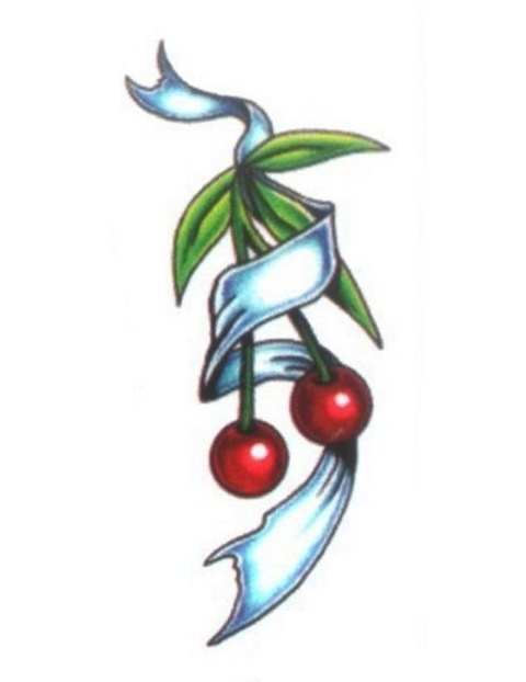 Two Cherries Tattoo photo - 1