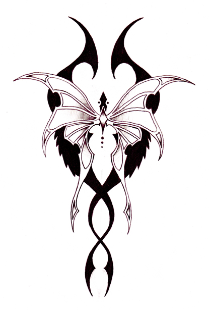 Two Tribal Tattoo Designs photo - 3