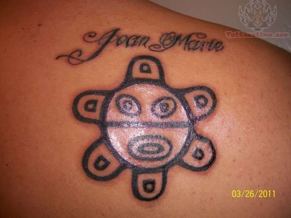US Taino Sun Tattoo photo - 1