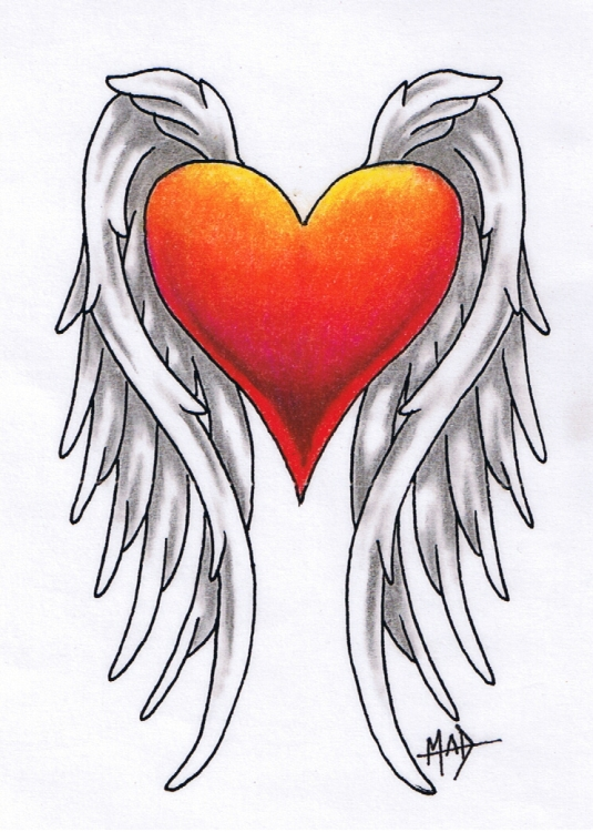 Wonderful Angel Tattoo Design photo - 2