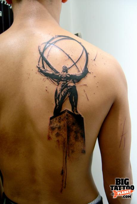 Xoil Neck And Back Tattoos photo - 1