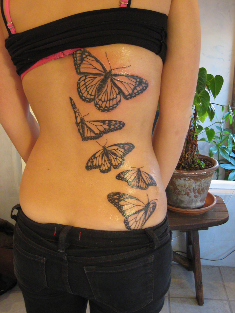 Zodiac Signs And Sun Moon Tattoos On Back Shoulder photo - 3